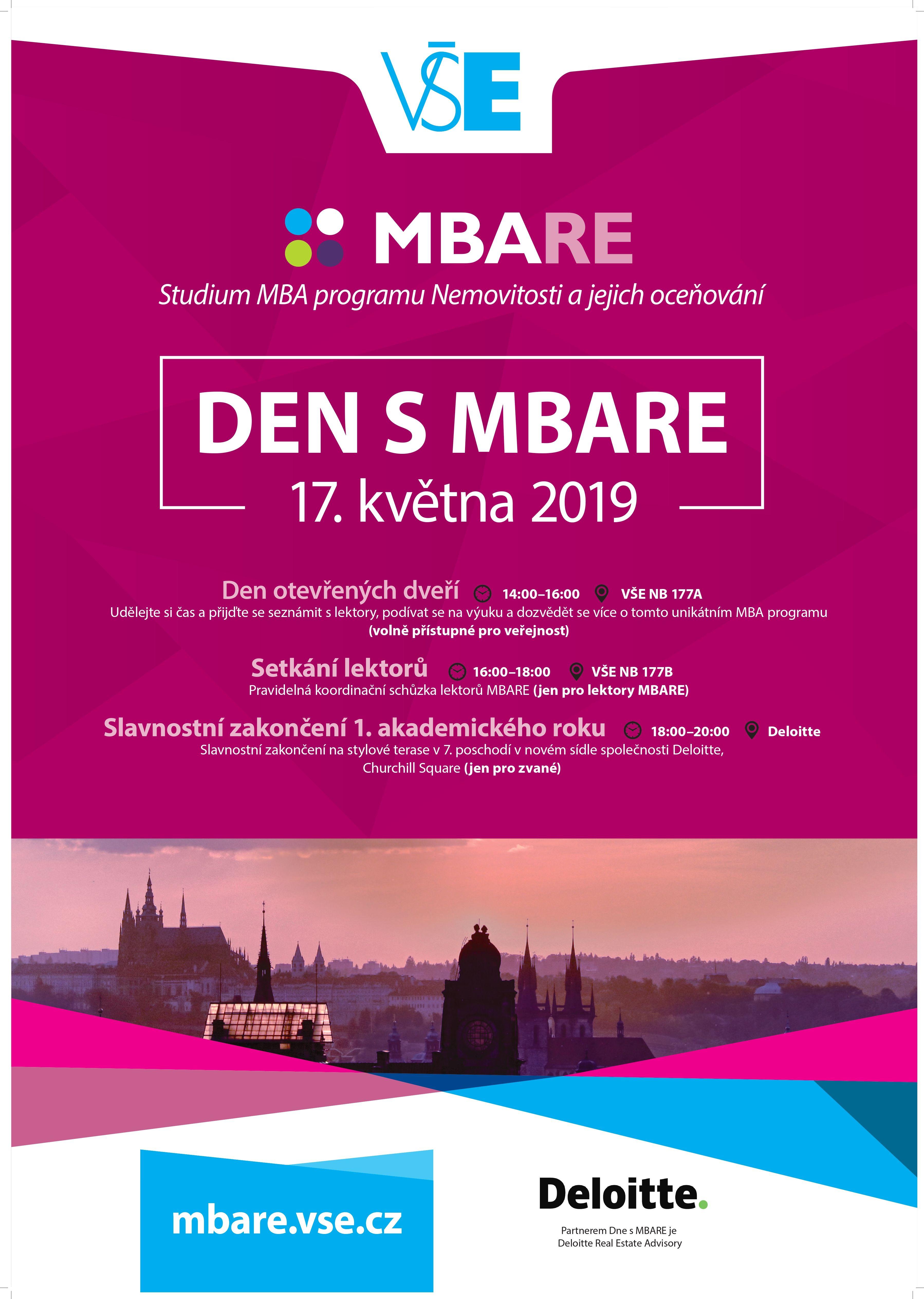 Den  otevřených  dveří  MBARE 17. 5. 2019
